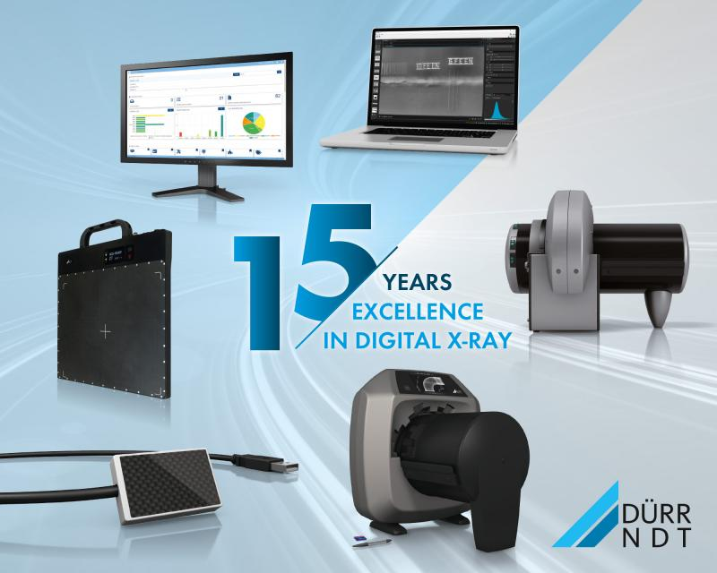 DÜRR NDT Celebrates 15 Years of Excellence in Industrial