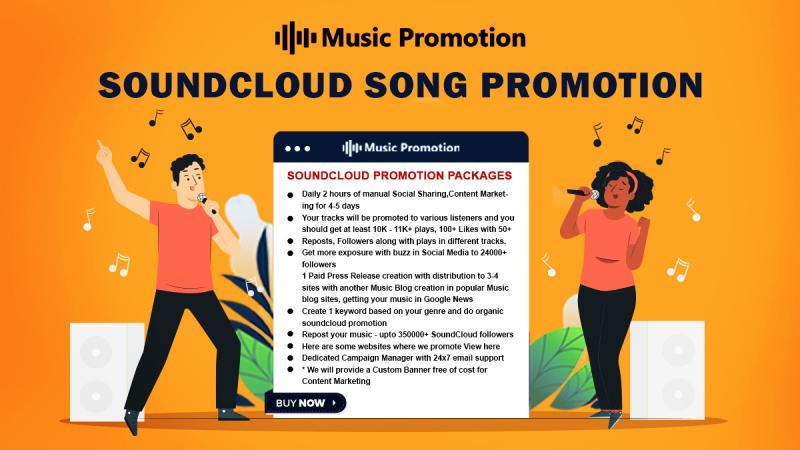 Soundcloud Song Promotion