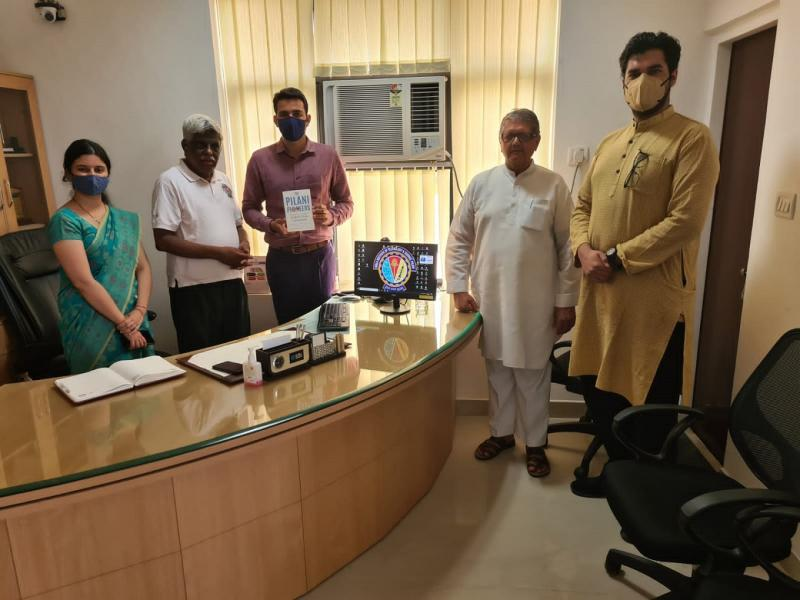 BITSian Day 2021 Celebrations with Pilani Pioneers at NAAC A++ Banasthali Vidyapith