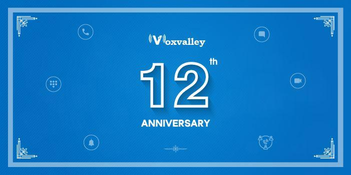 Voxvalley Celebrates 12 Golden Years of Business Excellence