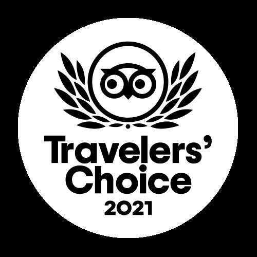 2021 TripAdvisor Travelers' Choice Award