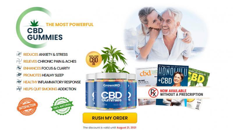 GrownMD CBD Gummies Reviews : Side Effects Risk or GrownMD CBD