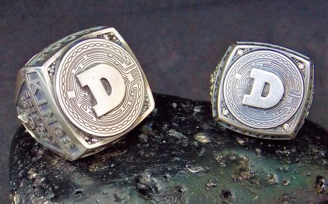 Exclusive Dogecoin Ring