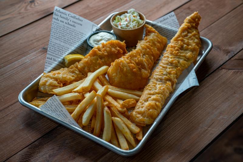 Fish & Chips at the Fish Shack