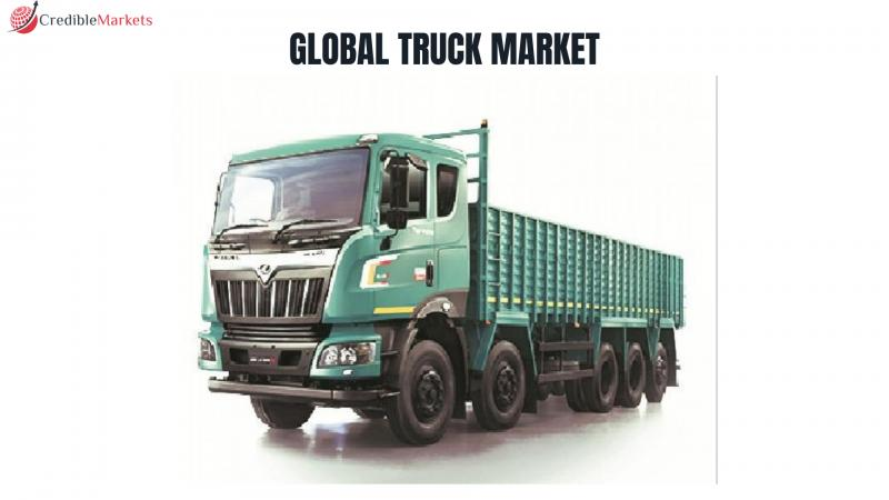 Global truck market is projected to grow at a CAGR of 2.37% to reach