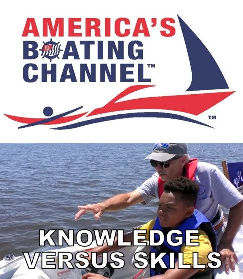America's Boating Channel Premieres KNOWLEDGE VERSUS SKILLS