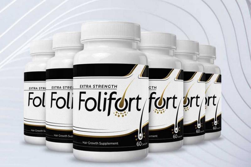 FoliFort Reviews: Extra Strength Hair Fall Solution- Sale