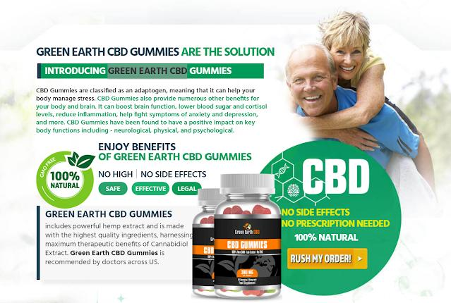Green Earth CBD Gummies & Oil Reviews: Relief from Chronic Back