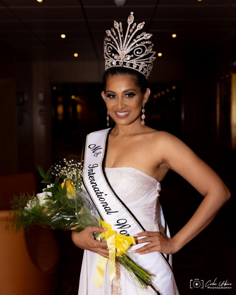 Ms International World 2021- Bahamas - Akshata Prabhu Crowned