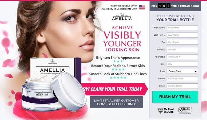 Amellia Cream: The #1 Anti Aging Skin Cream Formula For Lines  