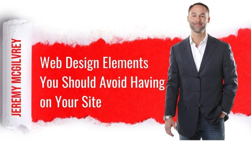 Jeremy McGilvrey's Website Design Tips