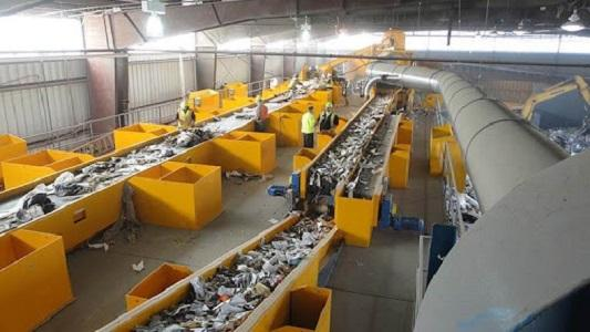 Construction Waste Processing