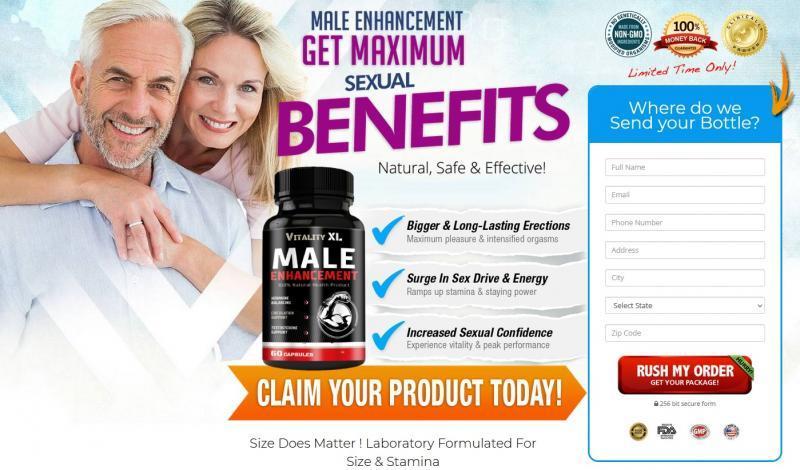 Vitality XL Male Enhancement - The Best Male Enhancement
