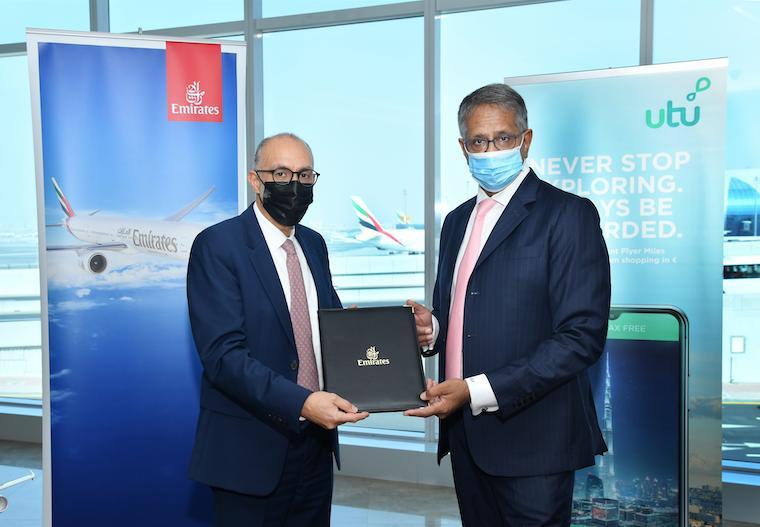 Emirates and utu Sign Strategic Partnership