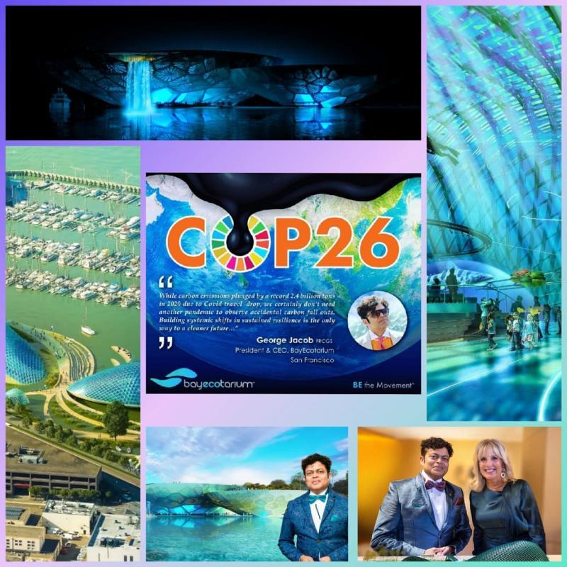 16 Days to UN COP26 BITS Pilani Alumnus George Jacob Leads $600 Million Global Climate Living Museum Initiatives