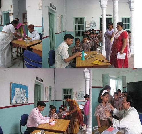 Free Medical Camp at Jamuna Mishra Academy - JMA Pilani Rajasthan