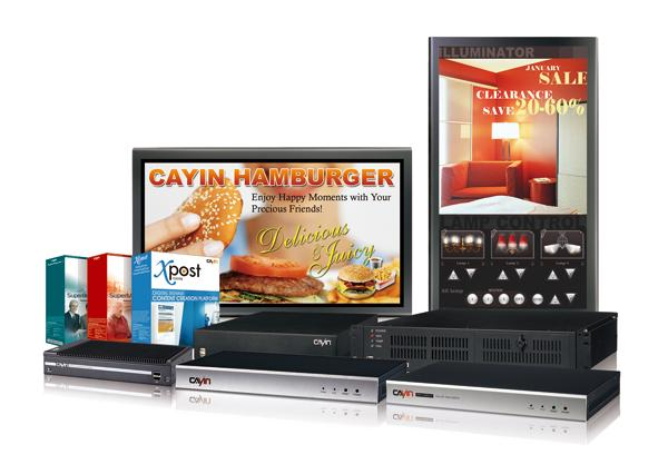 CAYIN Technology will present complete digital signage solutions at COMPUTEX TAIPEI 2010.