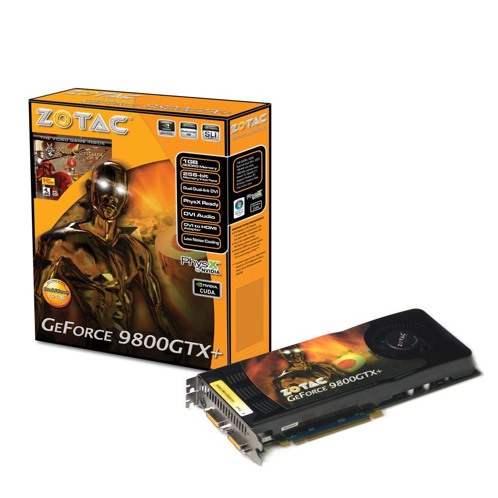 ZOTAC GeForce 9800GTX+ 1GB