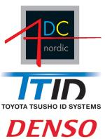 ADC Nordic distribute DENSO from Toyota Tsusho ID Systems in Scandinavia