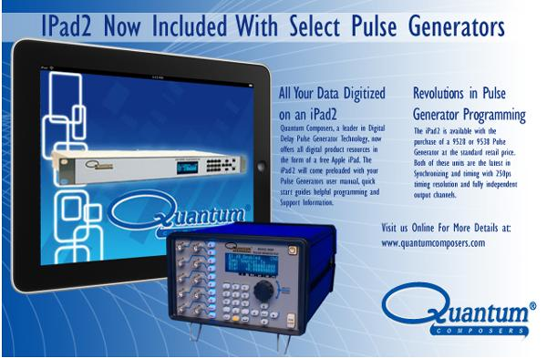 QUANTUM COMPOSERS GIVES AWAY IPADS WITH THEIR PULSE GENERATORS