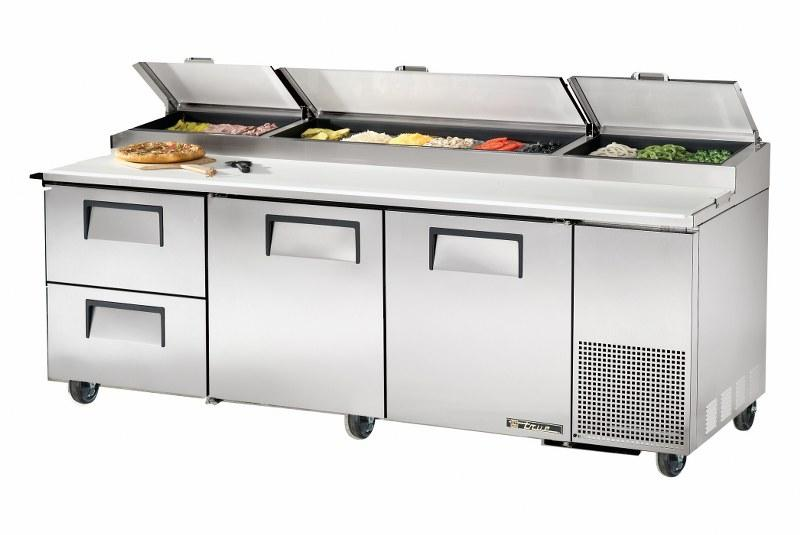 True Prep Counter with optional drawers