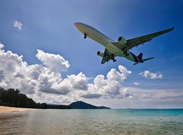Phuket, Thailand: New terminal at Phuket International Airport