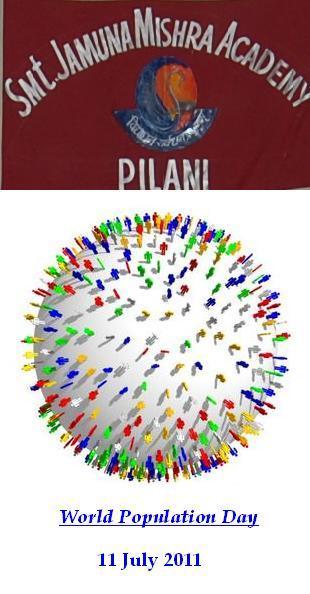 World Population Day at JMA Pilani Rajasthan