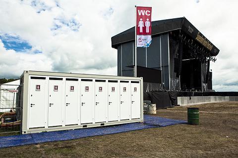 eps SPLASH Sanitary Systems meet Sweden Rock Festival