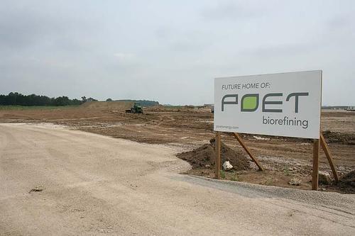 Future home of POET Biorefining