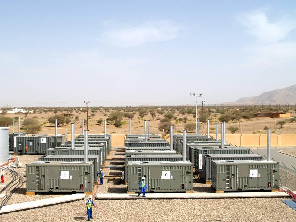 RSS Temporary Power Plant in Oman