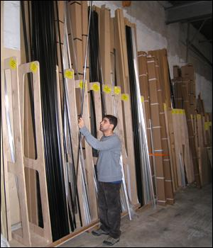 Snap frame profiles are available in lengths of up to 12 feet.