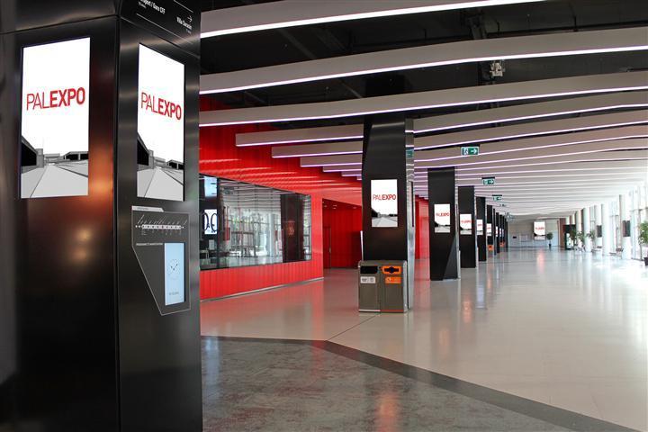 Stinova powers Digital Signage Network of Palexpo Exhibition Center in Geneva, Switzerland