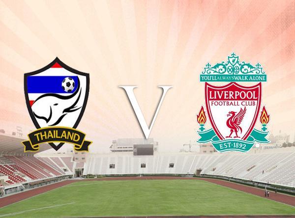 Liverpool Football Club legends shoot for Phuket, Thailand
