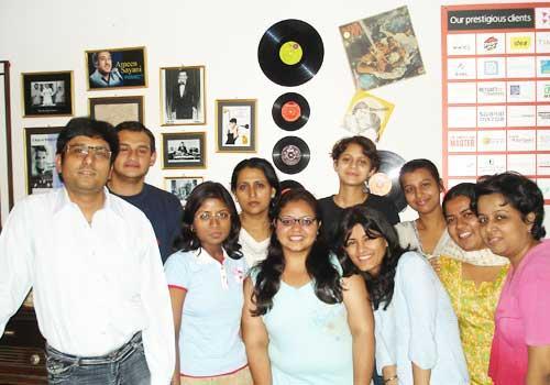 Radio Jockeys trained at the Academy of Broadcasting by Hardeep Chandpuri
