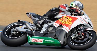 French GP: De Angelis