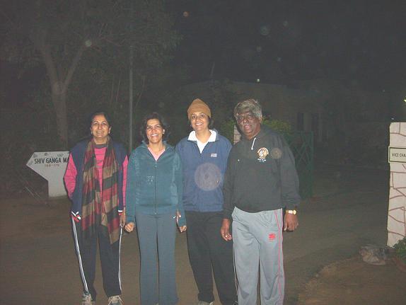 (From R to L) Proud to be BITSian Dr BR Natarajan, Dr Monica Sharma, Dr Sangeeta Sharma, Dr Usha Manjunath