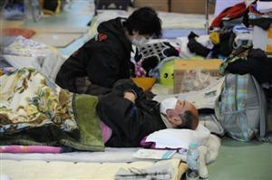 Emergency shelter /Picture: Kjeld Duits /DEMIRA