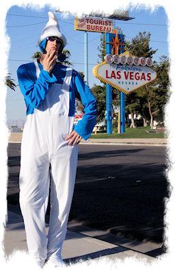 Smurf Costume in Las Vegas