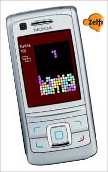Great version of the famous falling block game for mobile phones