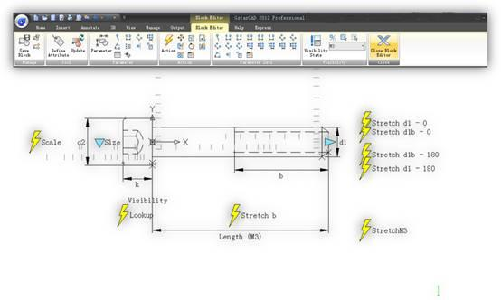 Gstarsoft Highlights New Dynamic Block Editor in GstarCAD 2012