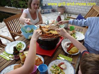 GRILL & CHILL -safe BBQ with children