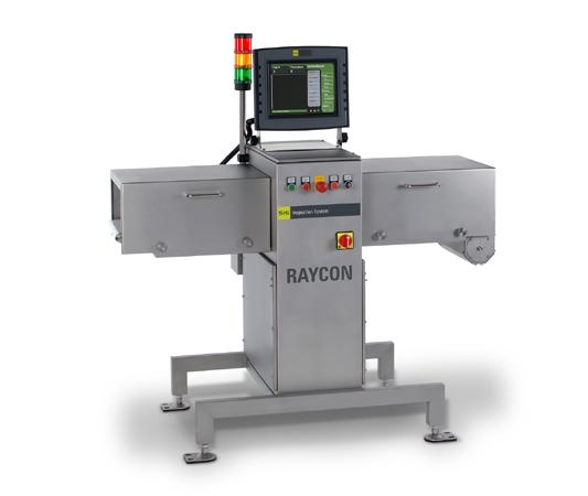 Next generation RAYCON product inspection system is smaller and lighter than its predecessors.