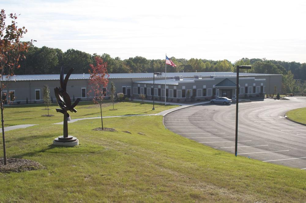 Basement Systems' new 59k sq.ft. facility in the Silvermine Industrial Park