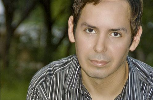"""Comedian Jade Esteban Estrada has been called the """"first gay Latin star"""" by The Advocate and Out Magazine.  He has been named 'Comic of the Week.' Photo by FRED MOSES."""