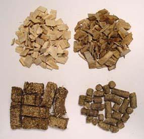Wood pellets for cellulosic ethanol