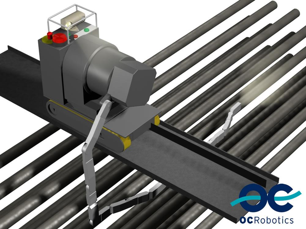 Snake-arm robot for CANDU pipe inspection