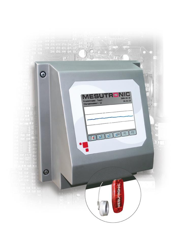 The new Mesutronic metal detector generation METRON 07 stores the protocol data in conformance with IFS on a USB stick.