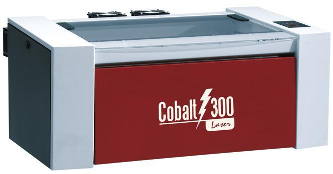 Cobalt 300 - CO2 laser engraver & plate-maker from Inkcups Now