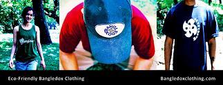 Bangledox [ban'gel-dox] Clothing Promotional Ad