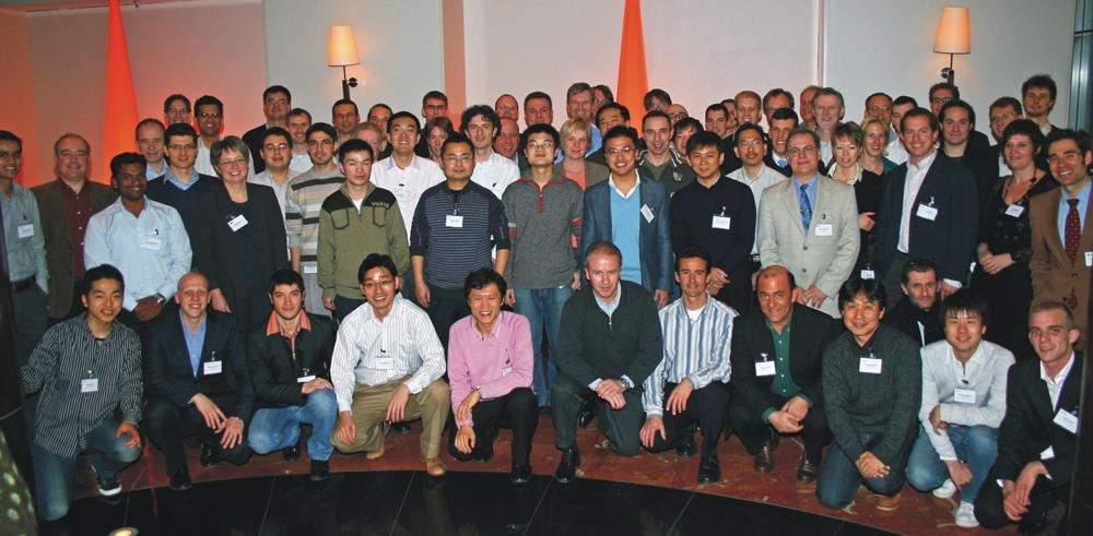 HALCON 9.0: At MVTec's Machine Visison Training in Munich, 58 sales engineers from 21 countries participated.